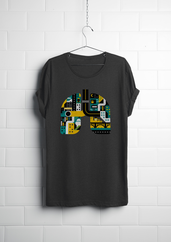 Realistic T-shirt PSD01