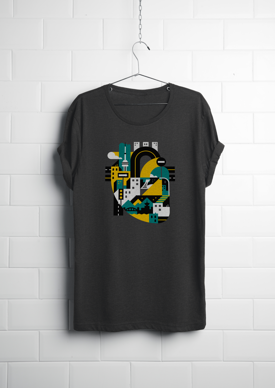 Realistic T-shirt PSD02
